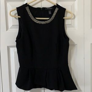 WHBM blouse womens size 10